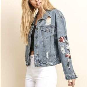 Jackets & Blazers - Taylor Denim Jacket